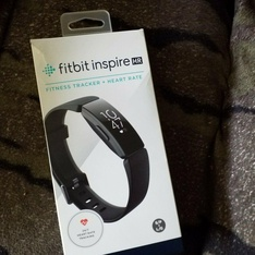 13 Pcs - Fitbit FB413BKBK Inspire HR Heart Rate & Fitness Tracker, One Size (S & L bands included) - Refurbished (GRADE B)