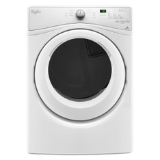 Lowes - Pallet - WHIRLPOOL WED75HEFW 7.4 cu. ft. Electric Dryer with Quick Dry Cycle - New (Scratch & Dent)
