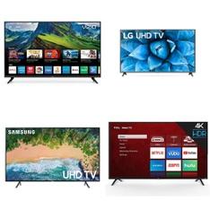 12 Pcs – LED/LCD TVs – Refurbished (GRADE A, GRADE B) – VIZIO, Samsung, onn., TCL