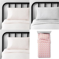 150 Pcs - Bedding Sets, Sheets & Pillowcases - New - Retail Ready - Hearth & Hand with Magnolia, Hearth & Hand with Magnolia, Pillowfort