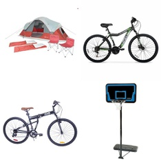 Pallet - 7 Pcs - Camping & Hiking, Cycling & Bicycles - Customer Returns - Ozark Trail, Hyper Bicycles, Columbia, Lifetime