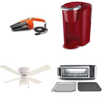 Pallet – 105 Pcs – Lighting & Light Fixtures, Vacuums, Camping & Hiking, Kitchen & Dining – Customer Returns – Mainstays, Armor All, Hyper Tough, Better Homes & Gardens