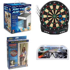 3 Pallets - 230 Pcs - Humidifiers / De-Humidifiers, Boats & Water Sports, Camping & Hiking, Hardware - Customer Returns - As Seen On TV, Coleman, US Divers, Narwhal