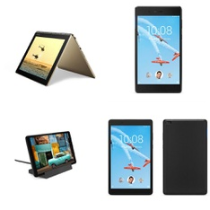 26 Pcs – Tablets – Refurbished (GRADE A, GRADE B) – LENOVO