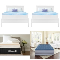 Pallet – 13 Pcs – Covers, Mattress Pads & Toppers – Customer Returns – Mainstay's, Dream Serenity