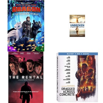 150 Pcs – Movies & TV Media – New – Retail Ready – Lionsgate, Warner Brothers, Universal Pictures, Universal Home Video