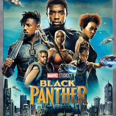 Marvel Black Panther (Blu-ray) - Brand New