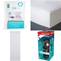 3 Pallets – 91 Pcs – Covers, Mattress Pads & Toppers, Curtains & Window Coverings, Comforters & Duvets, Vacuums – Customer Returns – Mainstay's, Better Homes & Gardens, Aller-Ease, Dirt Devil