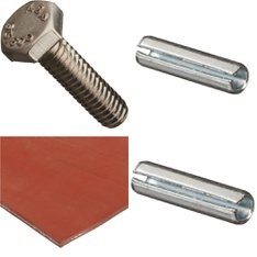 100 Pcs - Home Improvement - New - Retail Ready - Small Parts, WeMo, WIKA, DORMER