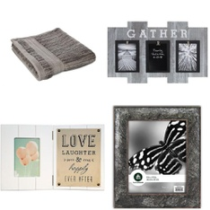 Pallet - 215 Pcs - Decor, Kitchen & Dining, Bath, Curtains & Window Coverings - Customer Returns - HomeTrends, Mainstays, Canadiana Art, Thermos