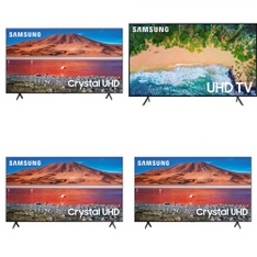 12 Pcs – LED/LCD TVs – Refurbished (GRADE A) – Samsung