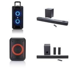 Pallet – 20 Pcs – Portable Speakers, Speakers – Customer Returns – Onn, LG