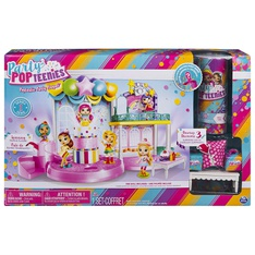 46 Pcs - Party Popteenies 6043883 Poptastic Party Playset with Confetti - New Damaged Box, Open Box Like New - Retail Ready