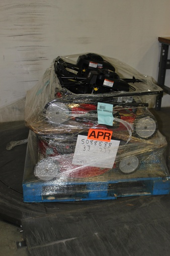 Pallet – 4 Pcs – Lawn Mowers – Customer Returns – Snapper