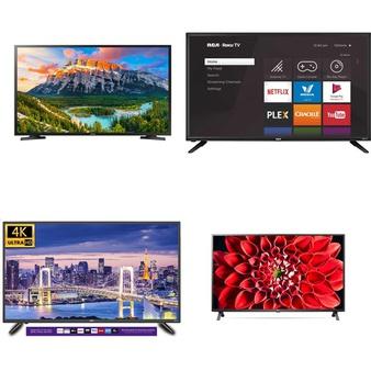 10 Pcs – LED/LCD TVs – Refurbished (GRADE A) – RCA, TCL, Samsung, LG