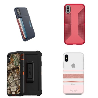 250 Pcs – iPhone XS, iPhone XS, iPhone X, and iPhone XR Max Accessories – New, Like New, Used, Open Box Like New, New Damaged Box – Speck, CASE-MATE, OtterBox, Kate Spade New York