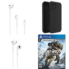 Pallet – 486 Pcs – In Ear Headphones, Sony, Audio Headsets, Cases – Customer Returns – Apple, Ubisoft, Turtle Beach, LifeProof