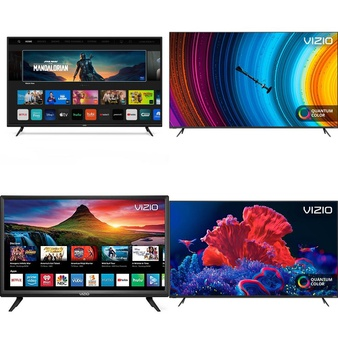 18 Pcs – LED/LCD TVs – Refurbished (GRADE A, GRADE B) – VIZIO