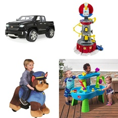 Pallet – 6 Pcs – Vehicles, Baby Toys – Customer Returns – Paw Patrol, RollPlay, Movelo, Step 2