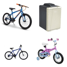 Pallet - 8 Pcs - Cycling & Bicycles - Customer Returns - Movelo, Hyper Bicycles, IMPORT-HUFFY BICYCLE COMPANY, Road Warrior