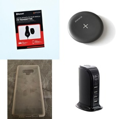241 Pcs - Cellular Phones Accessories - Used, Like New, Open Box Like New - iSimple, Blackweb, Tech21, PhoneSuit