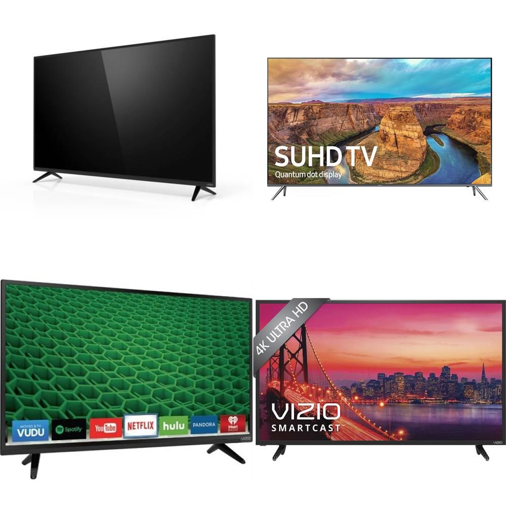 70 Pcs - TVs - Tested Not Working - VIZIO, Samsung, LG, HITACHI -  Televisions