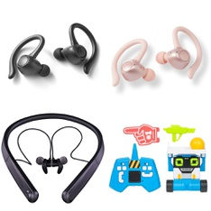 6 Pallets - 407 Pcs - Vehicles, Trains & RC, In Ear Headphones, Camping & Hiking, Over Ear Headphones - Customer Returns - Blackweb, Onn, Bestway, Paw Patrol