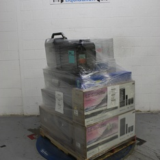 Pallet - 29 Pcs - Speakers, Receivers, CD Players, Turntables - Tested NOT WORKING - Blackweb, Onn, LG, VIZIO
