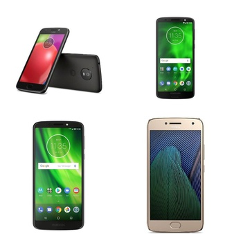 CLEARANCE! 10 Pcs – Smartphones – Tested Not Working – Motorola, ZTE