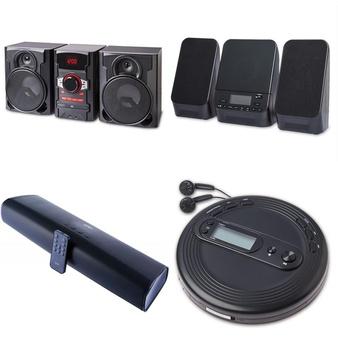 Pallet – 72 Pcs – Speakers, Accessories – Customer Returns – onn., Onn, One For All