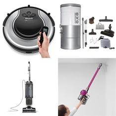 17 Pcs - Vacuums - Open Box Like New, Used, Like New, New, New Damaged Box - Retail Ready - Shark, SharkNinja, Dirt Devil, ROYAL APPLIANCE MFG. CO.