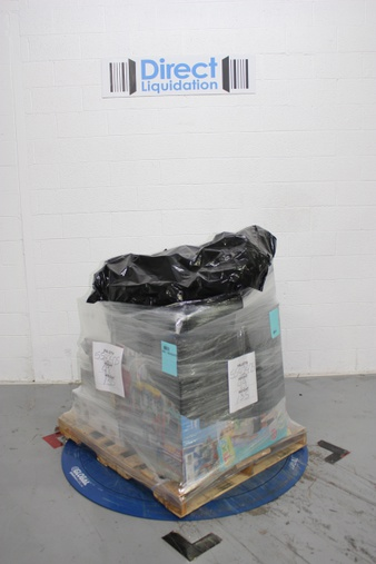 3 Pallets – 142 Pcs – Portable Speakers, Fitbit, Vehicles, Trains & RC, Speakers – Customer Returns – Ion, FitBit, Blackweb, Microsoft