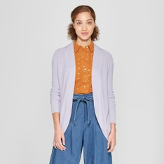 35 Pcs - A New Day Women's Cocoon Cardigan - Lavender M - New - Retail Ready