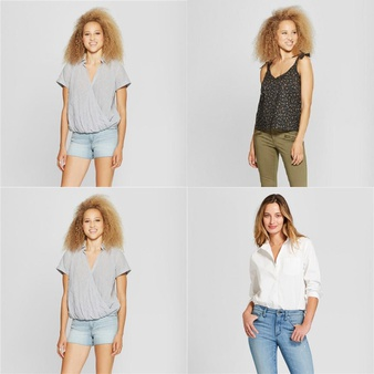 150 Pcs – T-Shirts, Polos, Sweaters & Cardigans – New – Retail Ready – Universal Thread, A New Day