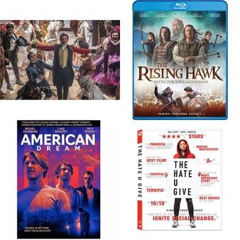 150 Pcs – Movies & TV Media – New – Retail Ready – Lionsgate, 20th Century Fox, Universal, Warner Brothers