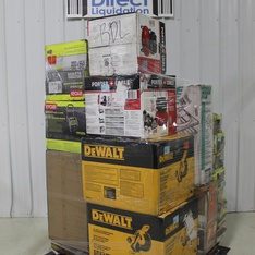 Pallet – 24 Pcs – Hardware, Trimmers & Edgers, Power Tools – Customer Returns – RYOBI, TrafficMaster, DEWALT