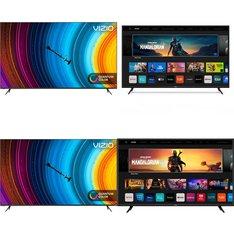 18 Pcs - LED/LCD TVs - Refurbished (GRADE A, GRADE B) - VIZIO
