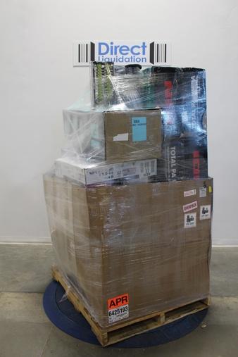Pallet – 22 Pcs – Vacuums, Portable Speakers – Customer Returns – Bissell, Ion, Shark