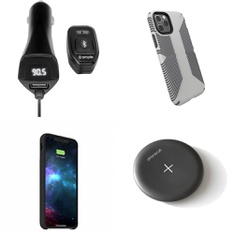 37 Pcs – iPhone Accessories – Like New, Used, Open Box Like New – Speck, iSimple, Mophie, PhoneSuit