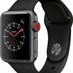 5 Pcs – Apple Watch – Series 3 – 38MM – Cell – Refurbished (GRADE A) – Models: MTGH2LL/A