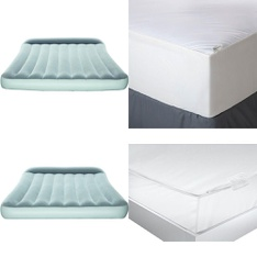3 Pallets - 199 Pcs - Covers, Mattress Pads & Toppers, Camping & Hiking, Comforters & Duvets - Customer Returns - Bestway, Mainstay's, Aller-Ease, American Textile