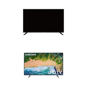 8 Pcs – LED/LCD TVs (42″ – 43″) – Refurbished (GRADE C) – Onn, Samsung