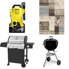 Pallet – 8 Pcs – Grills & Outdoor Cooking, Pressure Washers – Customer Returns – Karcher, Little Tikes, Backyard Grill, Uniflame