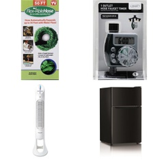 6 Pallets - 147 Pcs - Other, Bar Refrigerators & Water Coolers, Fans, Accessories - Customer Returns - Flex Able Hose, HISENSE, Mainstays, Helen of Troy Health & Home