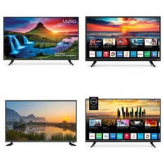 1 Pallets – 17 Pcs – TVs – Open Box (Tested Working) – VIZIO, Onn, TCL, LG