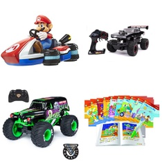 Pallet – 33 Pcs – Vehicles, Trains & RC, Action Figures, Not Powered – Customer Returns – JAKKS PACIFIC, Paw Patrol, New Bright, Hot Wheels