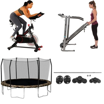 Pallet – 7 Pcs – Exercise & Fitness – Customer Returns – Hyper Bicycles, Sunny Health & Fitness, Exerpeutic, Skywalker