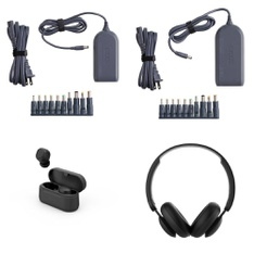 Pallet – 635 Pcs – Other, Over Ear Headphones, Power Adapters & Chargers, Keyboards & Mice – Customer Returns – onn., Onn, Anker, Monster