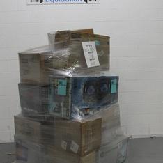 Pallet - 25 Pcs - Monitors, Inkjet - Customer Returns - HP, EPSON
