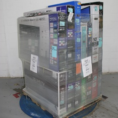 Pallet – 15 Pcs – TVs – Open Box (Tested Working) – HITACHI, Onn, TCL, Philips